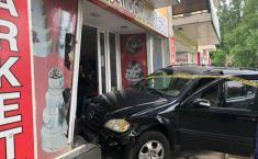 ავარია ქუთაისში - დამტვრეულია ოთხი მანქანა (ფოტო)