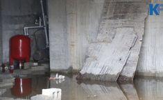 დატბორილი სარდაფი და მოშლილი ინფრასტრუქტურა - როგორ გამოიყურება დევნილთა კორპუსი ქუთაისში (ვიდეო)